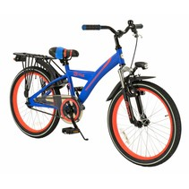 Kinderfiets 20 inch Ronin Suspension blauw-oranje