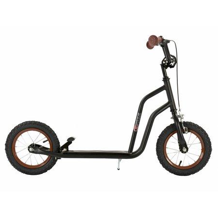 2Cycle 2Cycle Scooter - Luftreifen - 12 Zoll - Schwarz