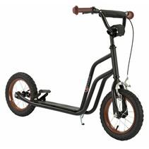 2Cycle Scooter - Luftreifen - 12 Zoll - Schwarz