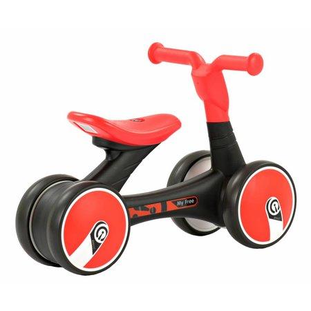 2Cycle 2Cycle 4x4 Loopfiets - Rood-Zwart