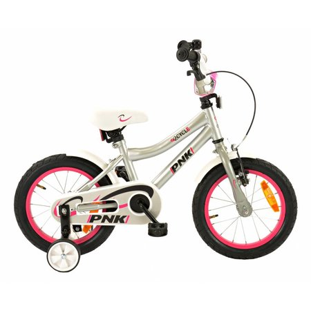 2Cycle 2Cycle PNK Kinderfiets - 14 inch - Grijs