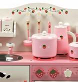 P&M Houten Speelkeuken Roze Strawberry (1354)
