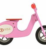 2Cycle Houten Loopfiets Scooter Roze (1326)