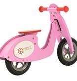2Cycle 2Cycle Scooter Loopfiets - Hout - Roze