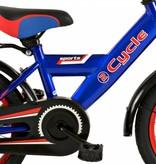 2Cycle Jongensfiets 14 inch Blauw-Rood (1425)