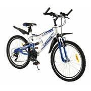 2Cycle Kinderfiets Eagle 24 inch 18-Speed Blauw MTB