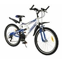Kinderfiets Eagle 24 inch 18-Speed Blauw MTB