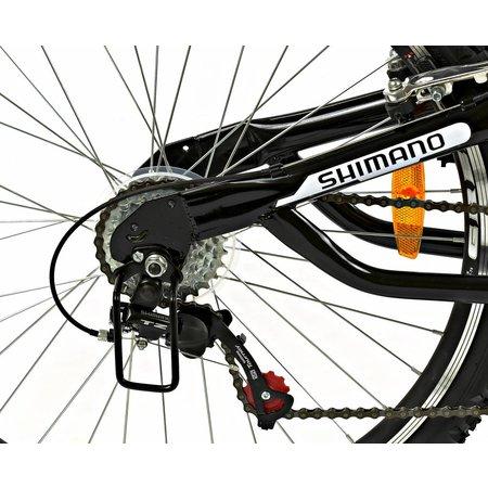 2Cycle Mountainbike Eagle 24 inch 18-Speed Blauw MTB (2491)