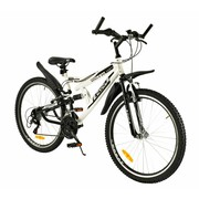 2Cycle Mountainbike 26 inch 18-Speed Wit