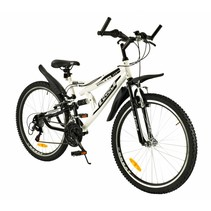 Mountainbike 26 inch 18-Speed Wit