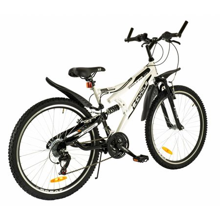 2Cycle Mountainbike 26 inch 18-Speed Wit (2615)