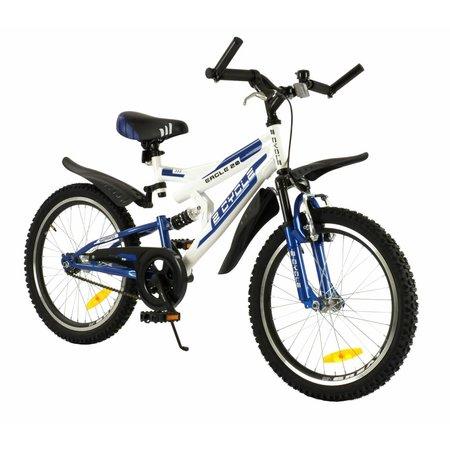 2Cycle Mountainbike 20 inch MTB blauw (2015)