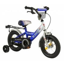 2Cycle Nitro Kinderfiets - 12 inch - Blauw