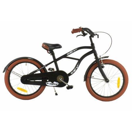2Cycle 2Cycle Cruiser Kinderfiets - 18 inch - Mat-Zwart