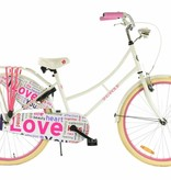 2Cycle 2Cycle Omafiets - 26 inch - Wit-Roze
