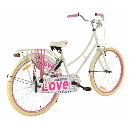 2Cycle Omafiets 26 inch Love (2662)