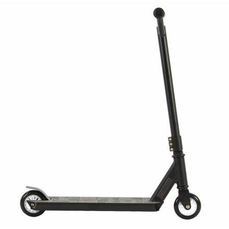 2Cycle 2Cycle Stuntstep - Aluminium -  ABEC 7 - Zwart