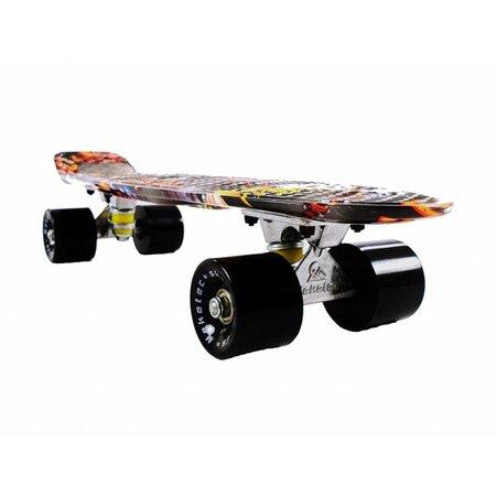 2Cycle Skateboard Graffiti-1 22.5 inch (3116)