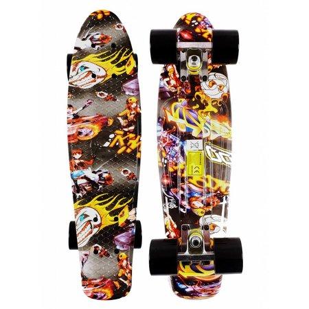 2Cycle 2Cycle Skateboard - 22.5 inch - 57cm - Graffiti