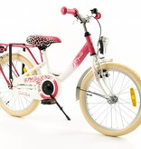 2Cycle 2Cycle Girls Kinderfiets - 18 inch - Roze-Wit