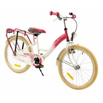 2Cycle Girls Kinderfiets - 20 inch - Roze-Wit