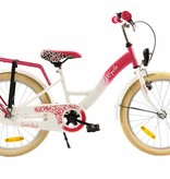 2Cycle 2Cycle Girls Kinderfiets - 20 inch - Roze-Wit