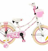 2Cycle 2Cycle Oma Kinderfiets - 16 inch - Wit-Roze