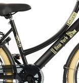 2Cycle Transportfiets 24 inch New-York met voordrager zwart (2474)