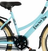 2Cycle Transportfiets 24 inch New-York Blue met voordrager (2472)