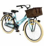 2Cycle 2Cycle New-York Transportfiets - 24 inch - Voordrager - Blauw