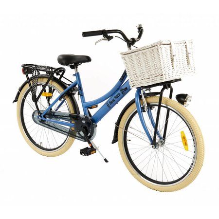 2Cycle 2Cycle New-York Transportfiets - 24 inch - Voordrager - Denim
