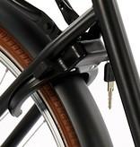 2Cycle Transportfiets 26 inch mat zwart met Voordrager (2644)
