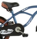 2Cycle Jongensfiets 14 inch Cruiser blauw