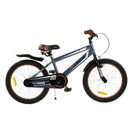 2Cycle 2Cycle Sports Kinderfiets - 20 inch - Grijs