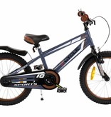 2Cycle 2Cycle Sports Kinderfiets - 18 inch - Grijs
