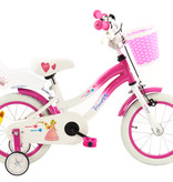 2Cycle 2Cycle Princess Kinderfiets - 14 inch - Wit -Roze