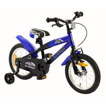 Kinderfiets 14 inch MX Blauw