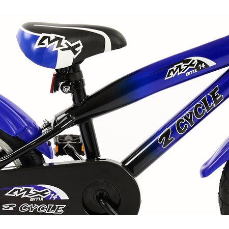 2Cycle Jongensfiets 14 inch MX blauw (1490)