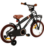 2Cycle 2Cycle Cargo Kinderfiets - 14 inch - Mat-Zwart