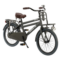 2Cycle Transportfiets - 20 inch - Mat-Grijs