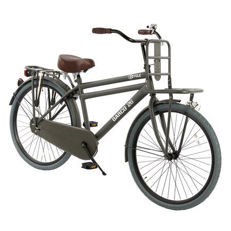 2Cycle Transportfiets 26 inch mat-grijs (2646)