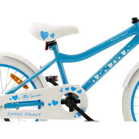 2Cycle Meisjesfiets 20 inch Sweet blauw (20505)
