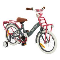 2Cycle Desire Kinderfiets - 16 inch - Grijs-Roze