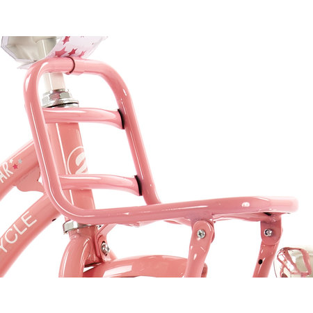 2Cycle 2Cycle Superstar Kinderfiets - 18 inch - Voordrager - Roze