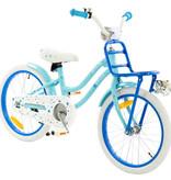 2Cycle 2Cycle Superstar Kinderfiets - 18 inch - Voordrager - Blauw