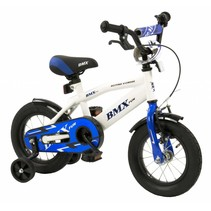 2Cycle BMX Kinderfiets - 12 inch - Wit