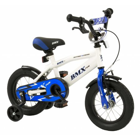 2Cycle 2Cycle BMX Kinderfiets - 12 inch - Wit