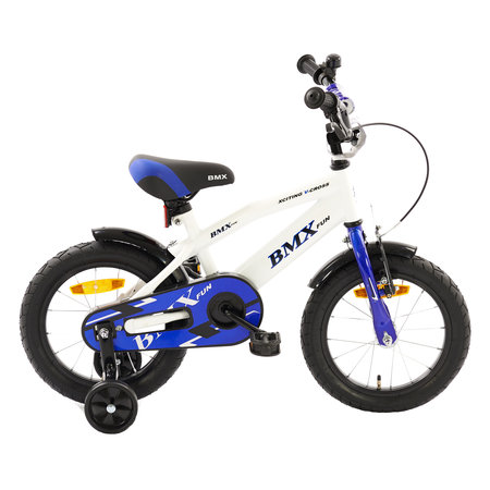 2Cycle 2Cycle BMX Kinderfiets - 14 inch - Wit