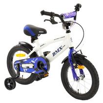 Kinderfiets 14 inch BMX Wit