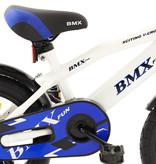 2Cycle Jongensfiets 14 inch BMX Wit (14006)